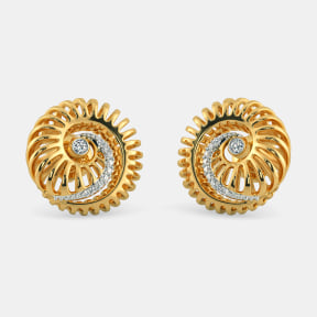 The Carapace Stud Earrings