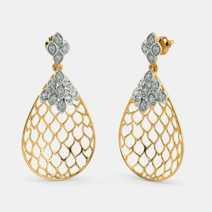 The Amelia Lattice Earrings