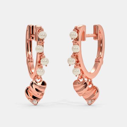 The Nemy Water Huggie Earrings