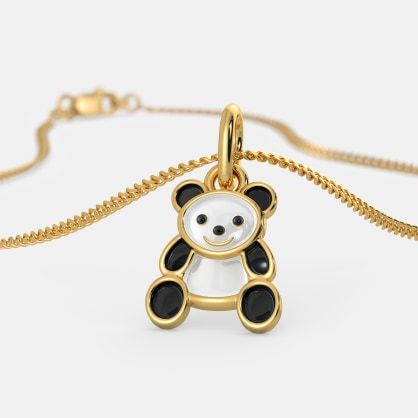 The Kiddie Panda Pendant For Kids