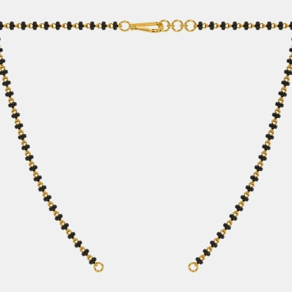 The Microbead Mangalsutra Single Line Open Chain