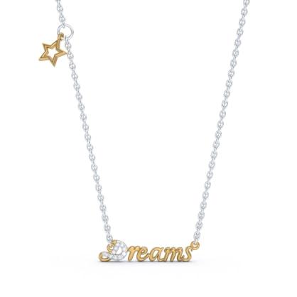 The Dreams Script Necklace