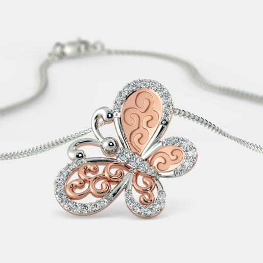 The Cyntia Butterfly Pendant