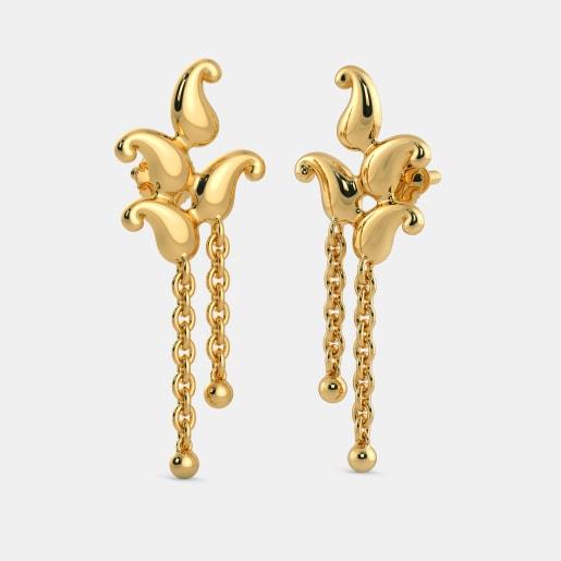 The Strung Sepal Earrings