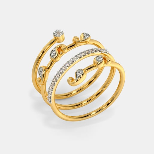 The Iravati Spiral Ring