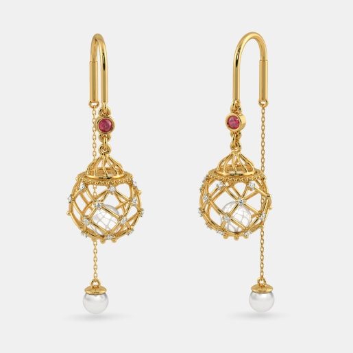 The Siena Sui Dhaga Earrings