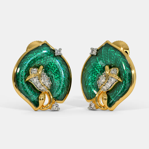 The Akula Stud Earrings