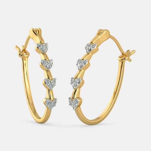 The Ihaan Hoop Earrings