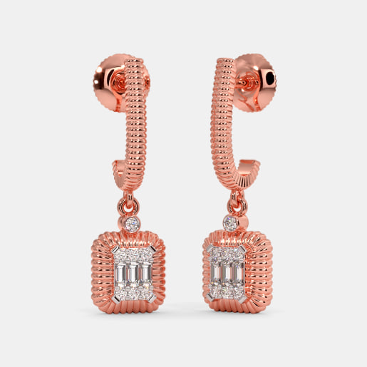 The Montay J Hoop Earrings