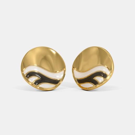 The Zeber Stud Earrings