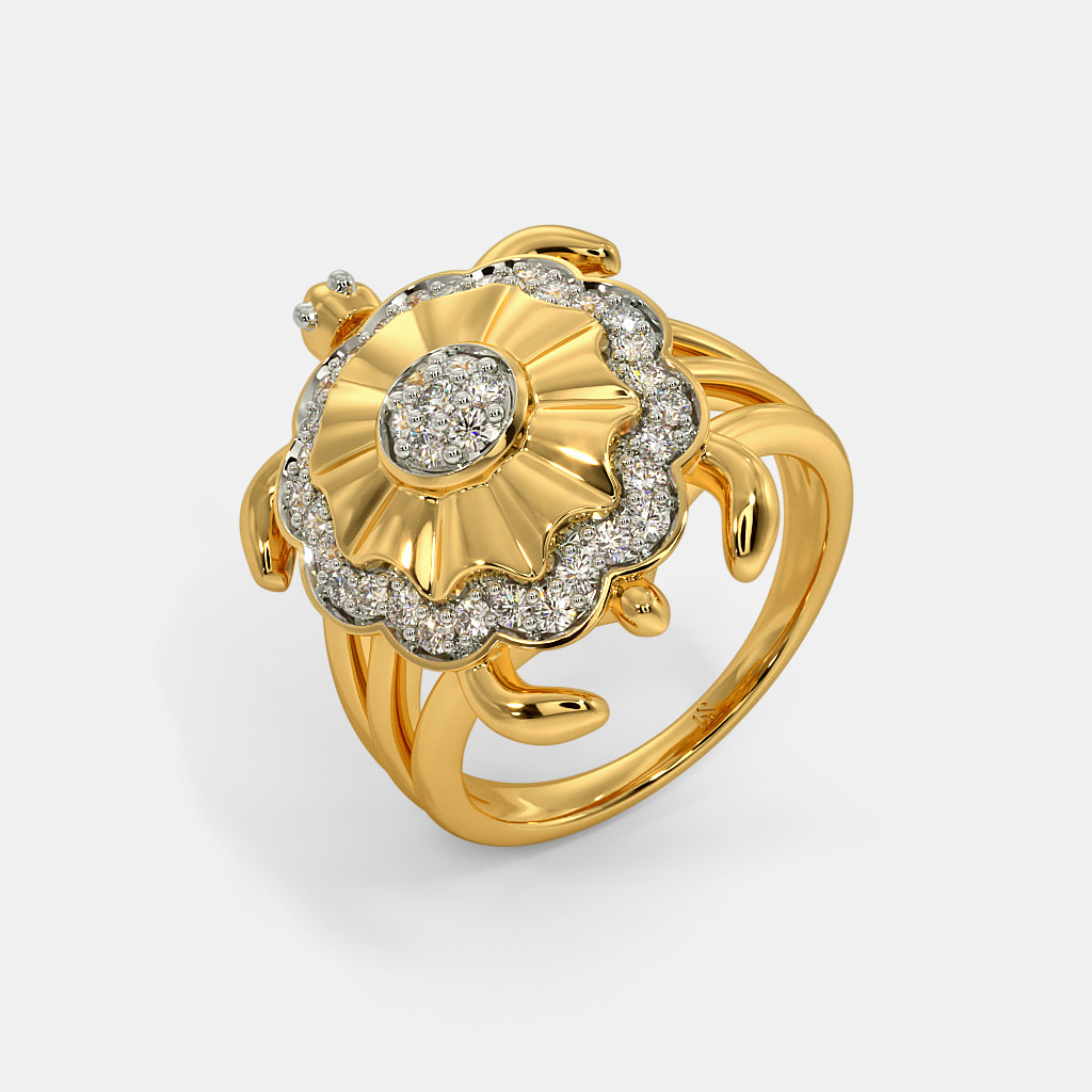 The Lucky Turtle Ring