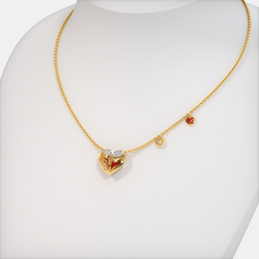 The Ettie Fire Necklace