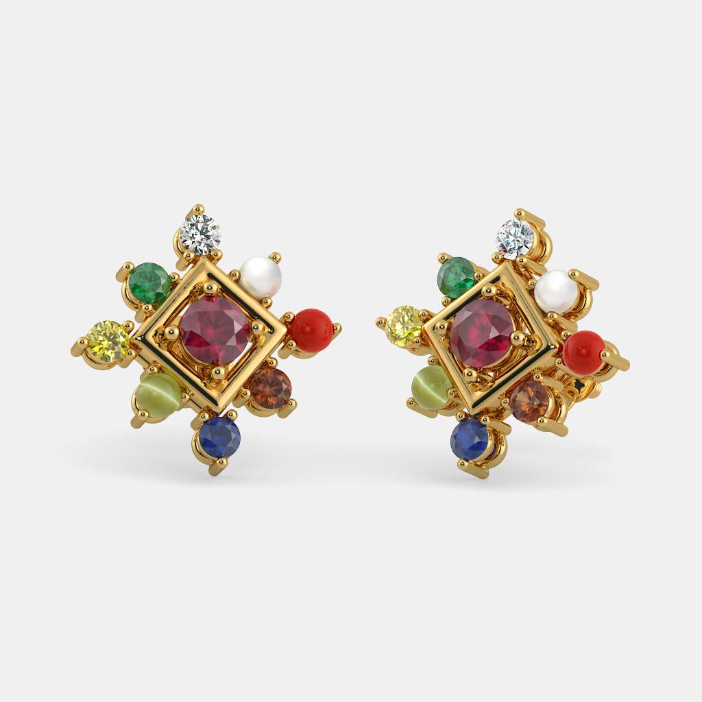 The Vividh Tej Earrings