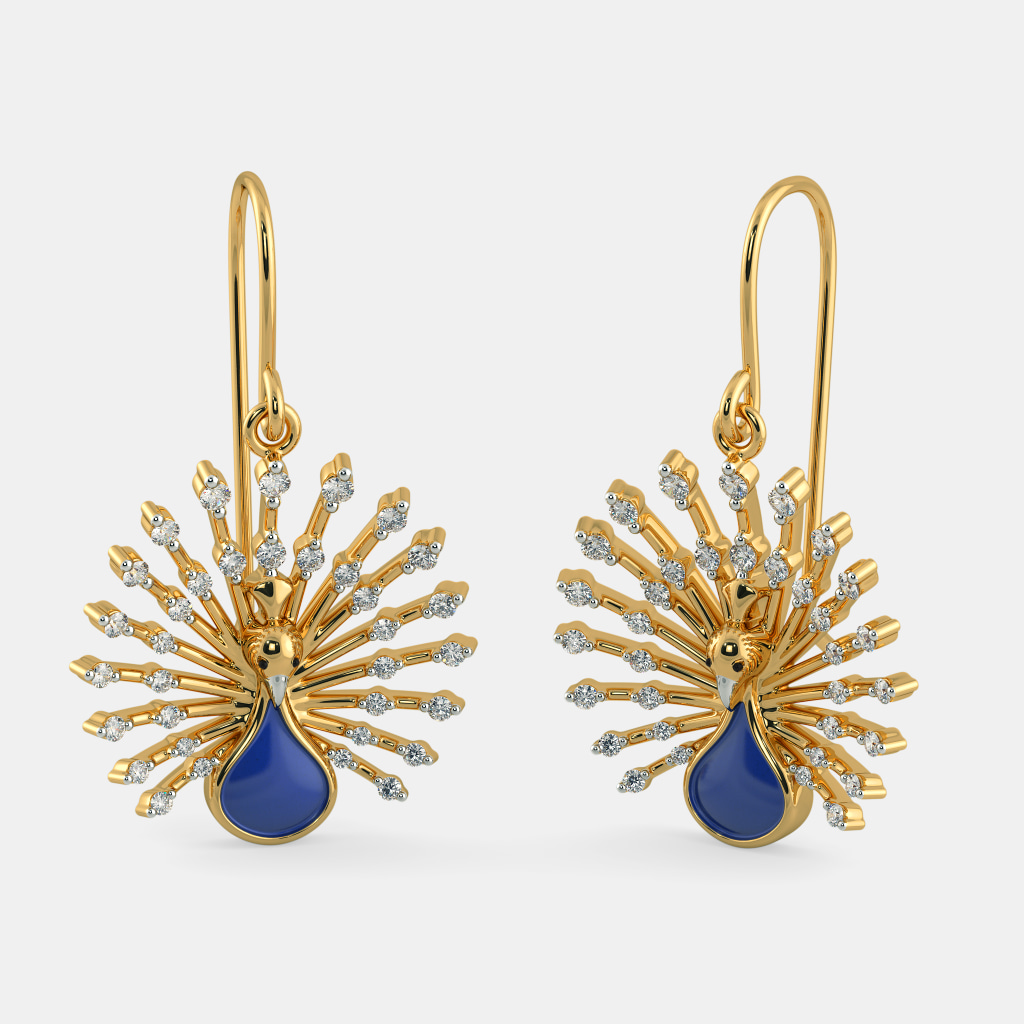 The Royal Feather Earrings