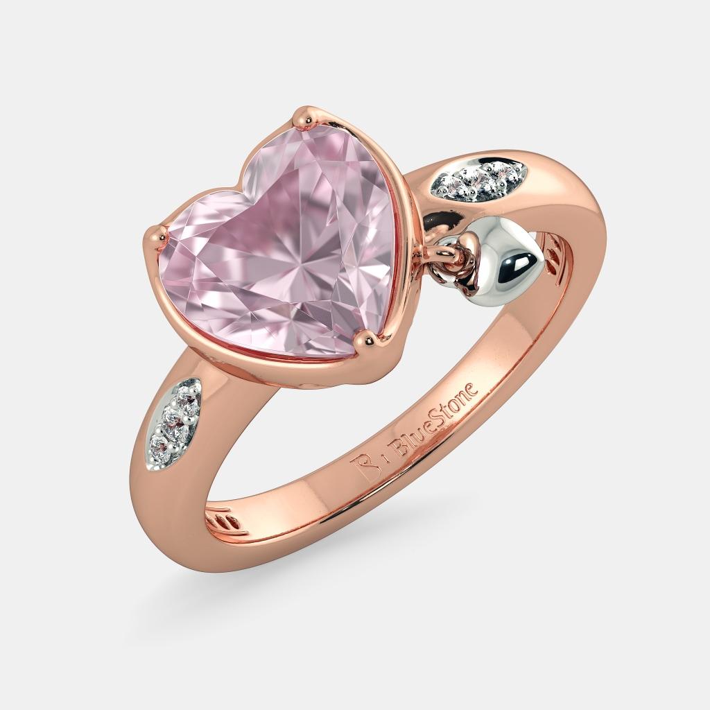 The Terra Rose Quartz Ring Bluestone Com