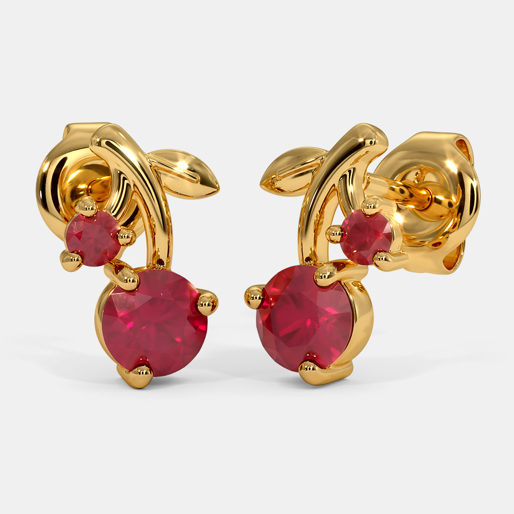 The Cherry Kids Stud Earrings