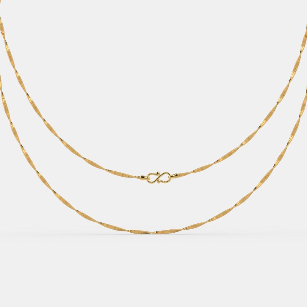 The Ajeeta Gold Chain
