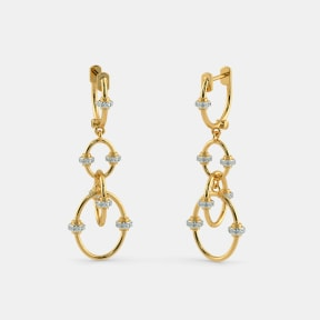 The Garion Orbit Drop Earrings