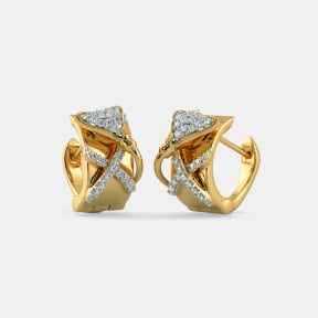 The Furisa Huggie Earrings