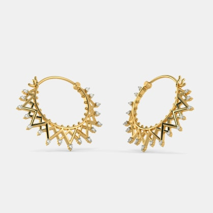The Edytha Hoop Earrings