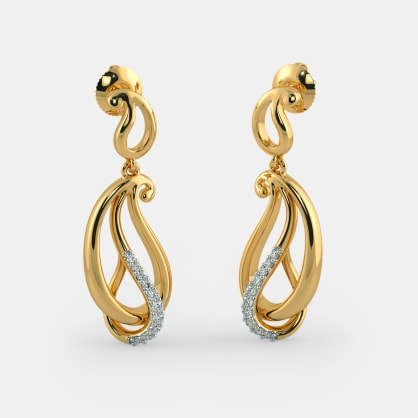 The Aaruta Paisley Drop Earrings
