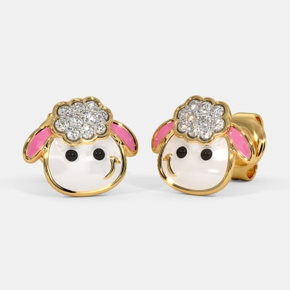 The Sheep Kids Stud Earrings