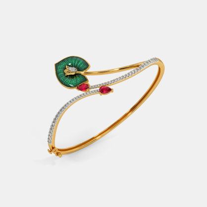 The Kanalendu Oval Bangle