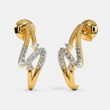 The Ananditha J Hoop Earrings