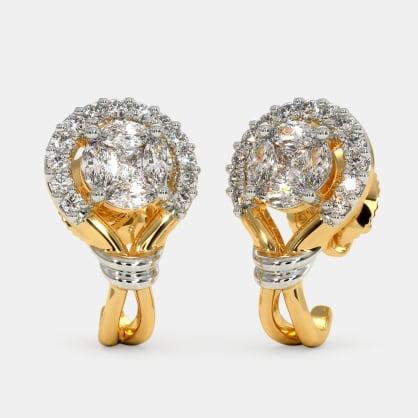 The Briar J Hooop Earrings