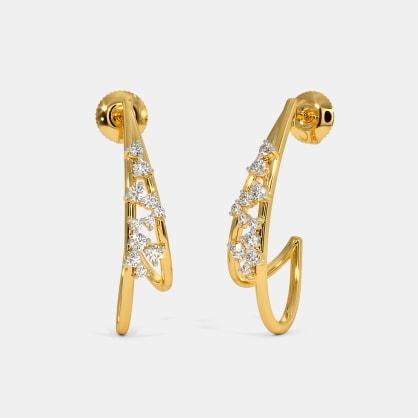 The Astrid J Hoop Earrings