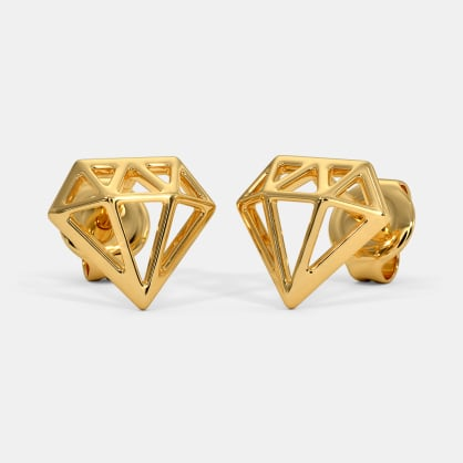 The Shiny Diamond Kids Stud Earrings