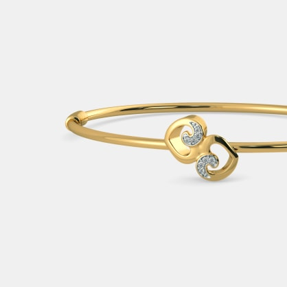 The Kathlyn Oval Bangle