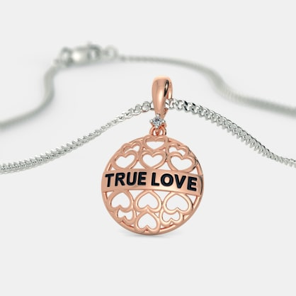 The Tia True Love Pendant