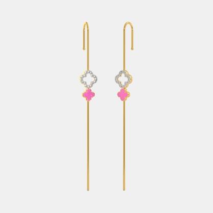 The Naintara Ear Pin Earrings