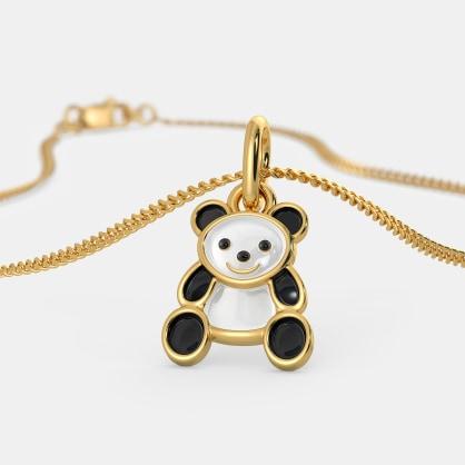 The Kiddie Panda Pendant For Kids