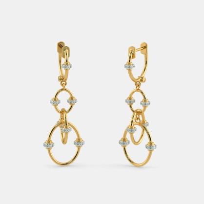 The Garion Orbit Drop Earrings