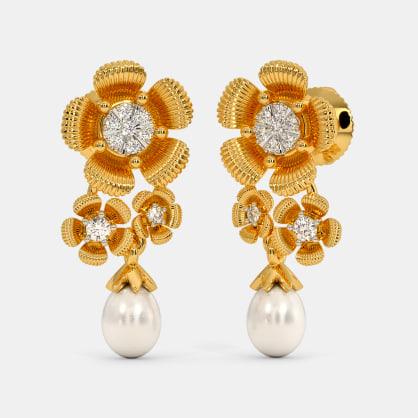The Begonia Drop Earrings