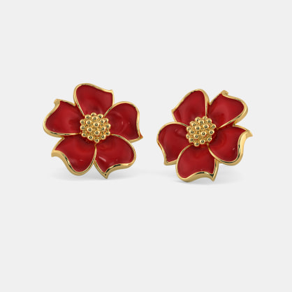 The Fiery Passion Stud Earrings