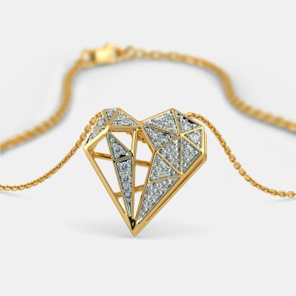 The Dgeo Glam Heart Pendant