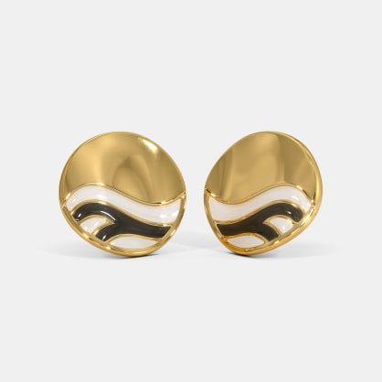 The Zeber Stud Earrings