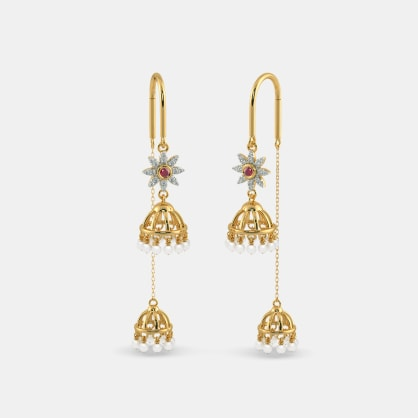 The Khushi Sui Dhaga Earrings