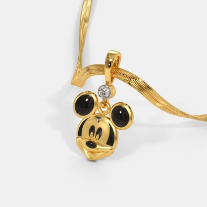 The Naughty Mickey Pendant For Kids