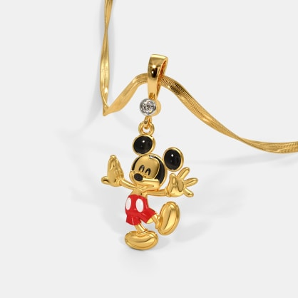 The Dancing Mickey Pendant For Kids
