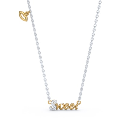 The Sweet Script Necklace