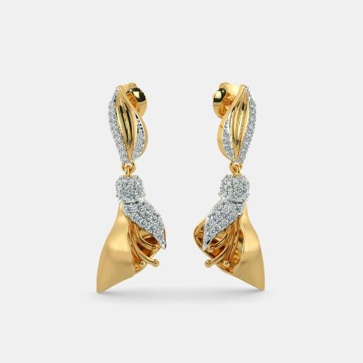 The Foret Flower Drop Earrings