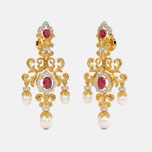 The Eliyana Drop Earrings