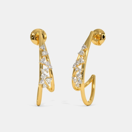 The Astrid J Hoop Earrings