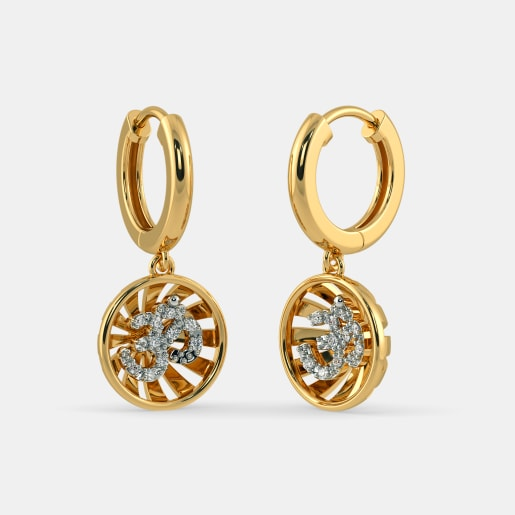 The Sunburst Hoop Earrings