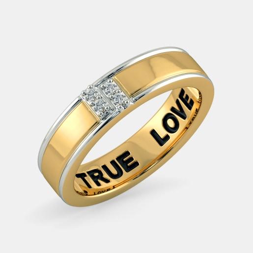 bc49485cdd Buy 150+ Men's Diamond Ring Designs Online in India 2019 | BlueStone.com