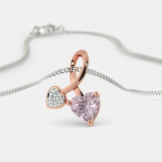 The Cira Rose Quartz Pendant